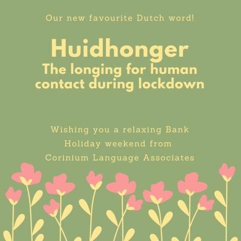 Huidhonger favourite Dutch word lockdown